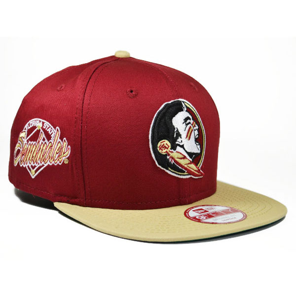 ... italy florida state seminoles primary fan snapback 9fifty new era ncaa  hat c42fc 1887d c22333df014