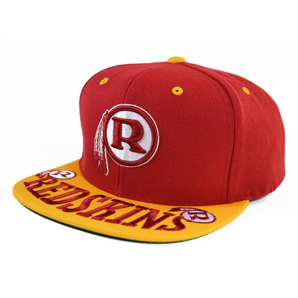 pretty nice 1b2f3 a013d Washington Redskins ARCH OVER SNAPBACK Mitchell & Ness NFL Hat