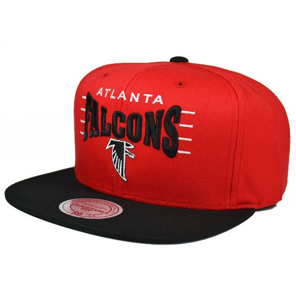 new arrival 80996 f1b41 Atlanta Falcons ZONE SQUEEZE SNAPBACK Mitchell & Ness NFL Hat