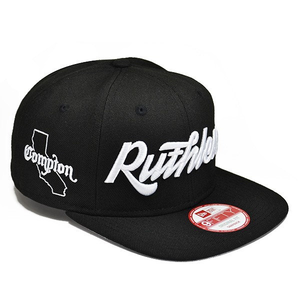 RUTHLESS Snapback So Cal Compton Series 9Fifty New Era Hat - Hat Dreams 63d30124f91