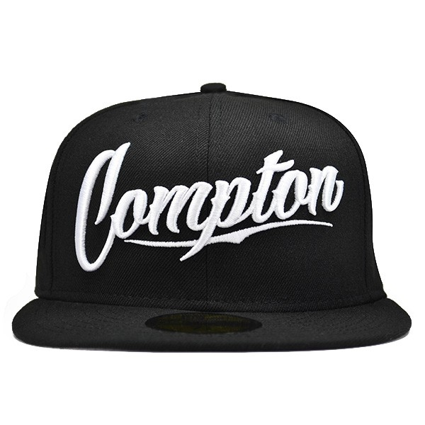 54c06a27bb9946 Compton Script Fitted So Cal Compton Series 59Fifty New Era Hat ...