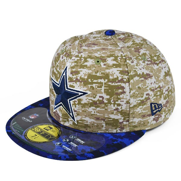 Dallas Cowboys 2015 Official On-Field NFL Salute to Service STS ... 9375821d7385