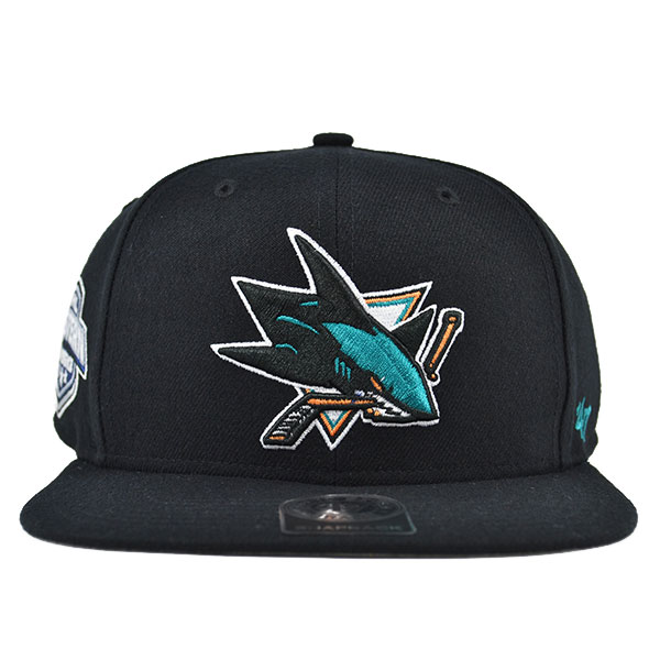 promo code 1125e d80d9 ... switzerland san jose sharks sure shot snapback 47 brand nhl hat hat  dreams 8c67b 2ce4d
