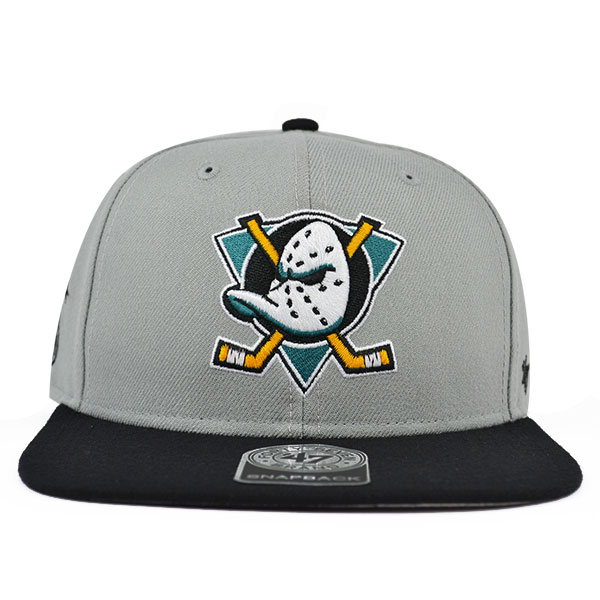 351206fb008 Anaheim Mighty Ducks SURE SHOT SNAPBACK 47 Brand NHL Hat - Hat Dreams