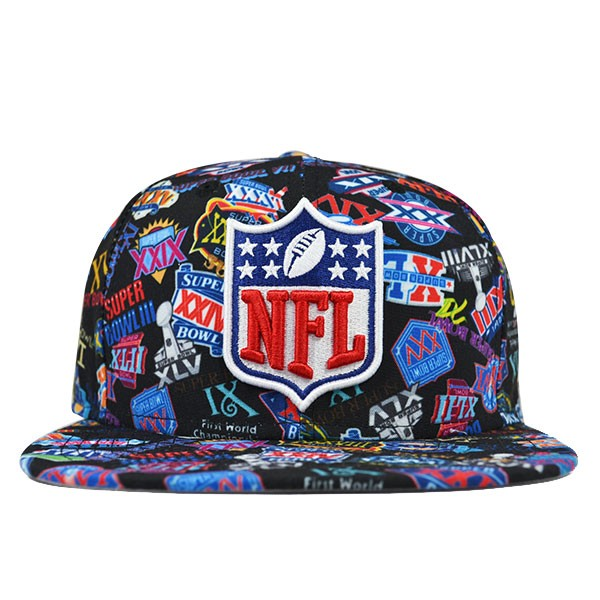 c328a059 NFL All Over SUPER BOWL 50 Special Edition SNAPBACK 9Fifty New Era ...