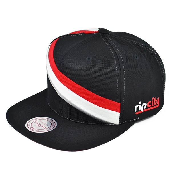 check out b3a03 1fc12 Portland Trail Blazers BLANK FRONT SNAPBACK Mitchell   Ness NBA Hat ...