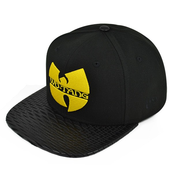 c3aaabeb5cf00 Wu-Tang Clan LEATHER RIP SNAPBACK 9Fifty New Era Hat - Hat Dreams