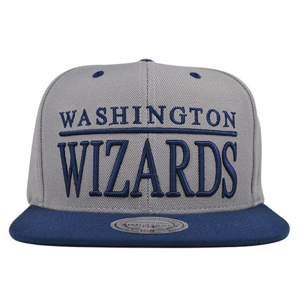 2b3910041 Washington Wizards TOP SHELF SNAPBACK Mitchell & Ness NBA Hat