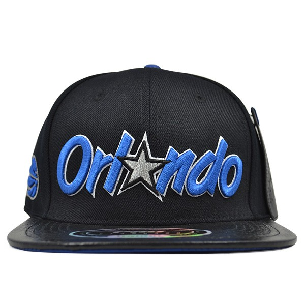 best sneakers c9cba bf8af Orlando Magic CLASSIC WORD LOGO STRAPBACK Pro Standard NBA Hat - Hat ...