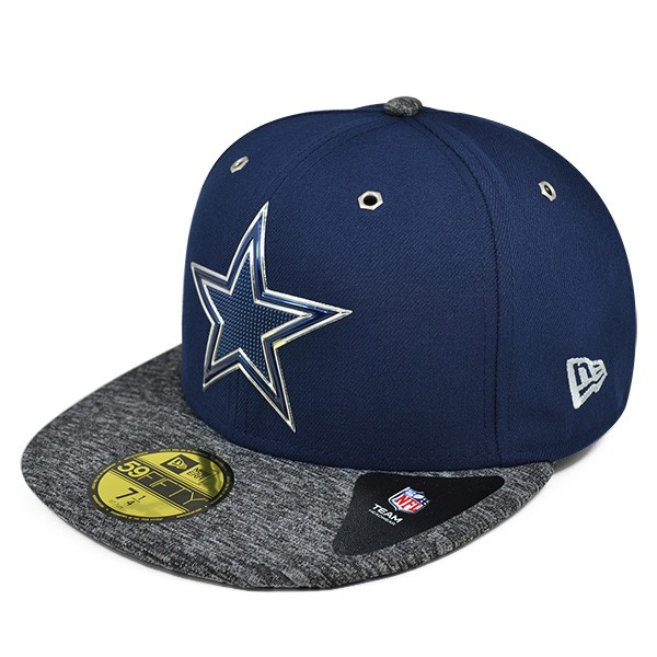Dallas Cowboys 2016 NFL DRAFT Navy FITTED 59Fifty New Era Hat - Hat ... 2cbc70a64