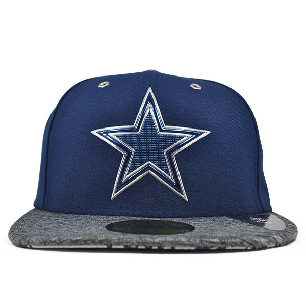 82f957a9700743 Dallas Cowboys 2016 NFL DRAFT Navy FITTED 59Fifty New Era Hat - Hat ...