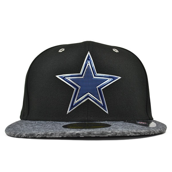 0c91c0eb7d4 Dallas Cowboys 2016 NFL DRAFT Black FITTED 59Fifty New Era Hat - Hat ...