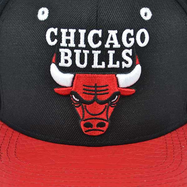 89067c44714 Chicago Bulls TWO TONE STRAPBACK Pro Standard NBA Hat - Hat Dreams