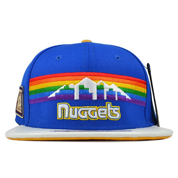 check out f88cc beadd Denver Nuggets HWC LOGO STRAPBACK Pro Standard NBA Hat - Hat Dreams