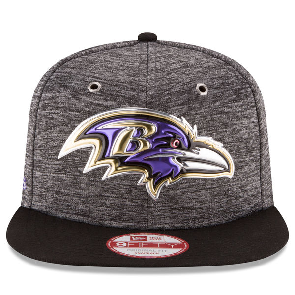 online store 64e5e f8a08 Baltimore Ravens 2016 OFFICIAL NFL DRAFT SNAPBACK 9Fifty New Era Hat ...