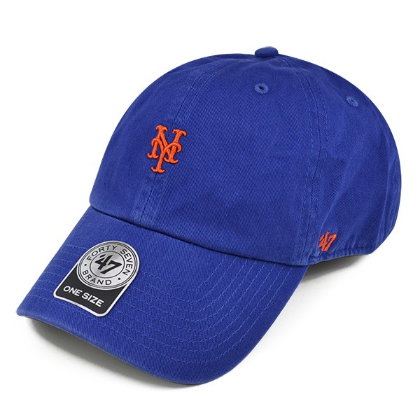 sports shoes 82073 8a9e3 New York Mets ABATE 47 CLEAN UP Mini Logo STRAPBACK MLB Hat - Hat Dreams