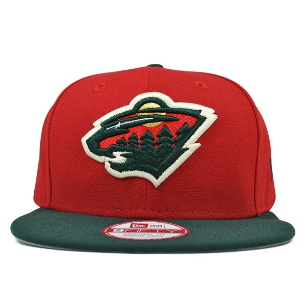 2497dfb7659 Minnesota Wild BAYCIK SNAPBACK 9Fifty New Era NHL Hat   Med Large ...