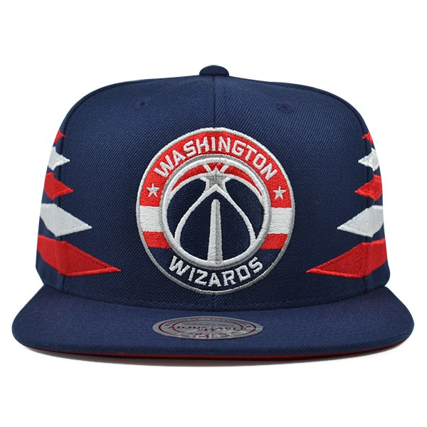 33f5d4be6 Washington Wizards VINTAGE DIAMOND SNAPBACK Mitchell & Ness NBA Hat