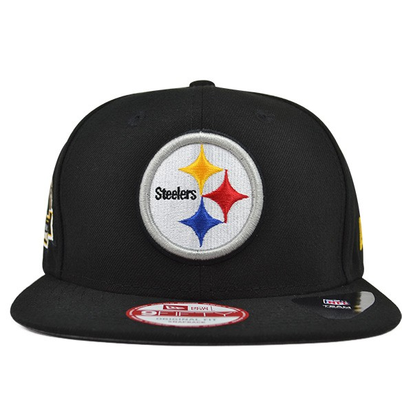 Pittsburgh Steelers 6x Champions TITLE DEALER SNAPBACK 9Fifty New ... 3e6d23286