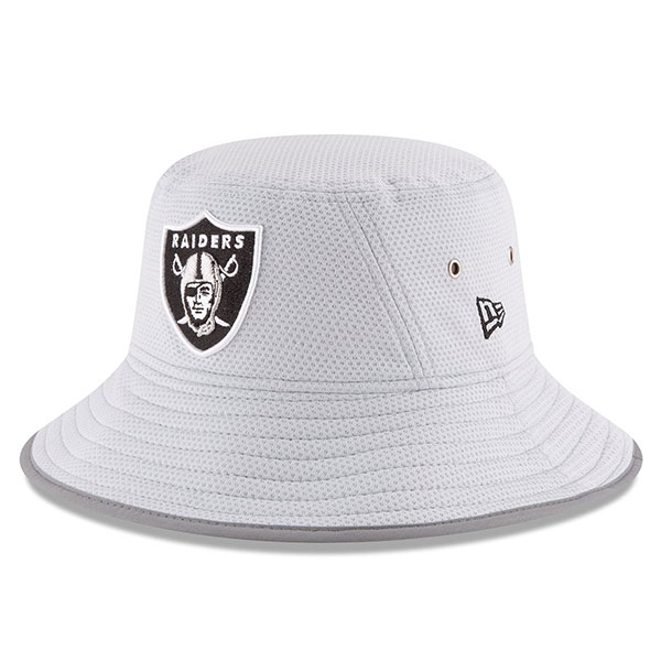 Oakland Raiders New Era NFL 2016 Secondary Training Bucket Hat ... 1ec5e5de4d1d