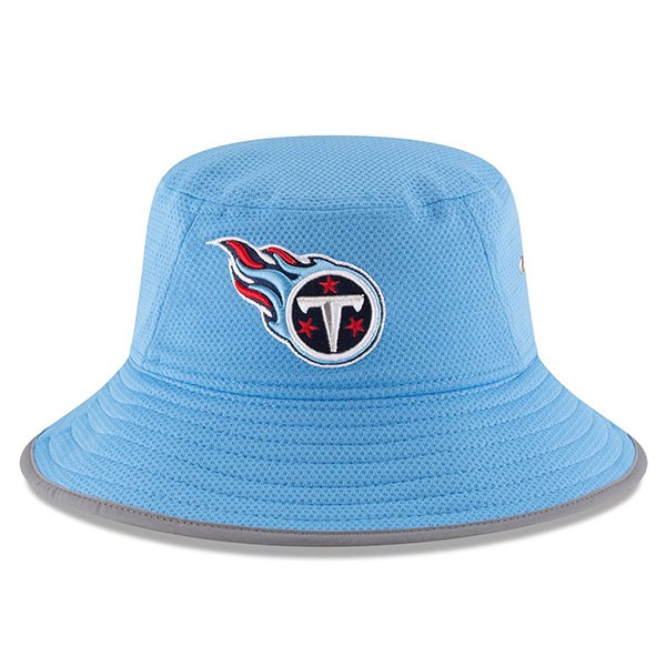 05453bcf97e Tennessee Titans New Era NFL 2016 Secondary Training Bucket Hat ...