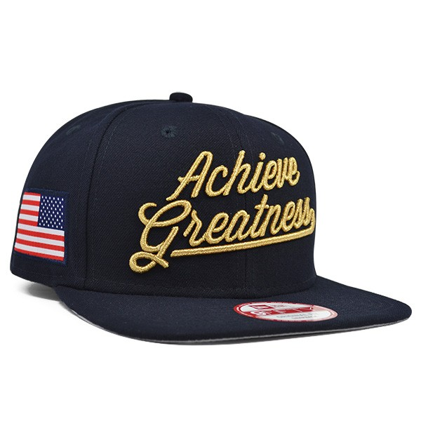 USA ACHIEVE GREATNESS Snapback 9Fifty New Era Olympic Hat - Hat Dreams 310b42d9d