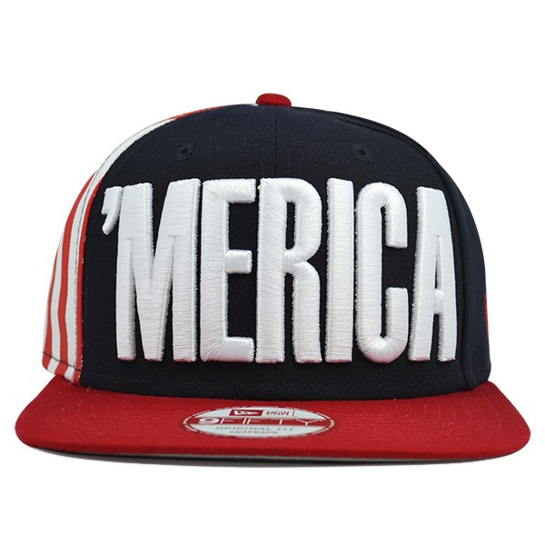 24e3f582a3e USA  MERICA FLAG SIDE Snapback 9Fifty New Era Olympic Hat - Hat Dreams