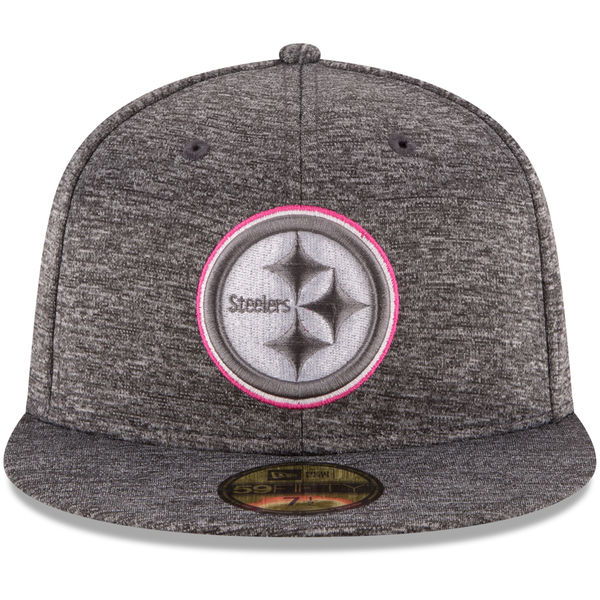 breast cancer hat Steelers