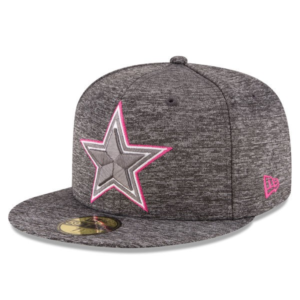 half off 5d2cf b8bd8 Dallas Cowboys New Era 2016 NFL Breast Cancer Awareness (BCA ...
