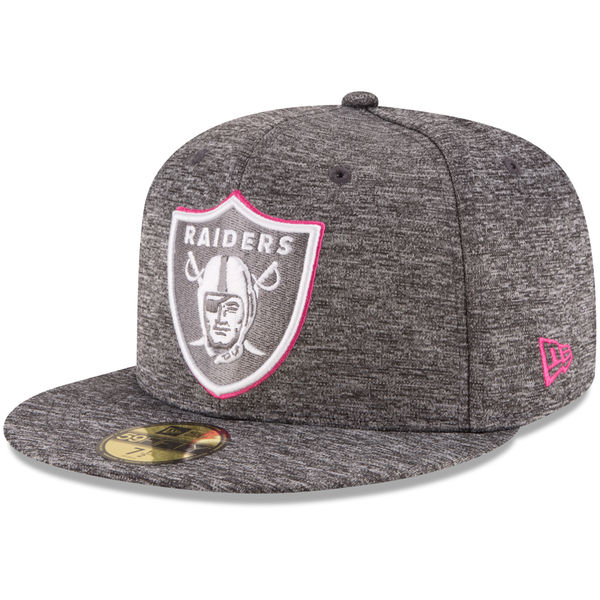 online store ac423 50460 Oakland Raiders New Era 2016 NFL Breast Cancer Awareness (BCA ...
