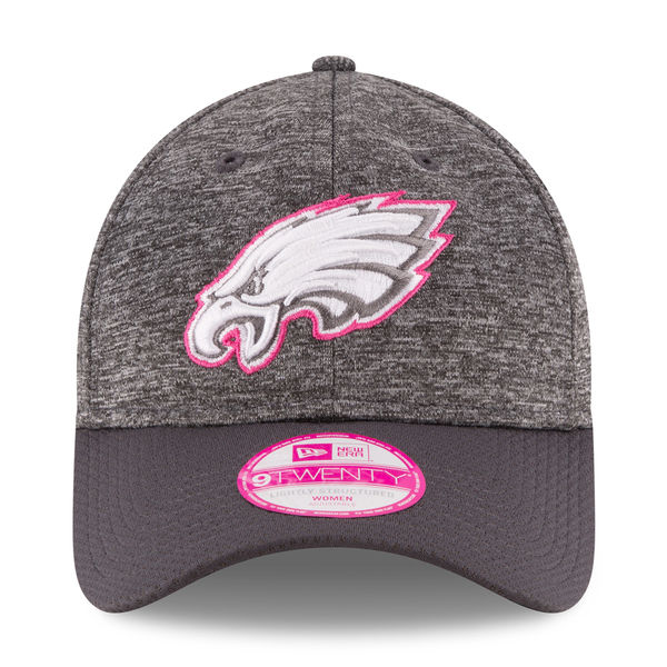 new arrival d89b5 0b0c2 Philadelphia Eagles New Era NFL Women s 2016 Breast Cancer Awareness ...