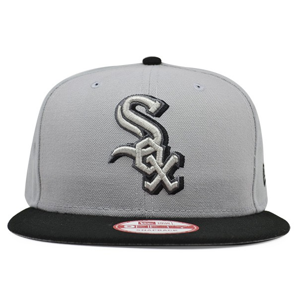 factory authentic 5f0ab 07a2e Chicago White Sox SHADOW SLICE Snapback 9Fifty New Era MLB Hat - Hat ...