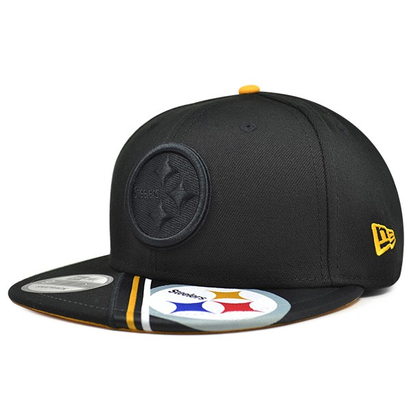 94ea330f76f Pittsburgh Steelers VIVID VIZE Snapback 9Fifty New Era NFL Hat - Hat ...