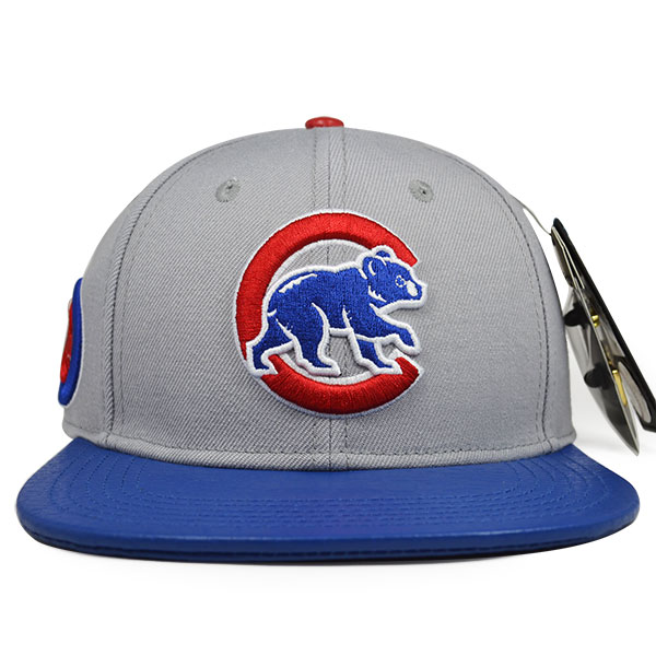 Chicago Cubs Alternate Logo STRAPBACK Pro Standard MLB Hat - Hat Dreams 1e0cda6a6fc