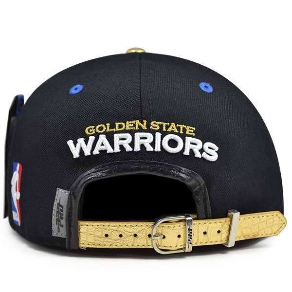 Golden State Warriors Circle Town Black STRAPBACK Pro Standard NBA ... e6bf555f403