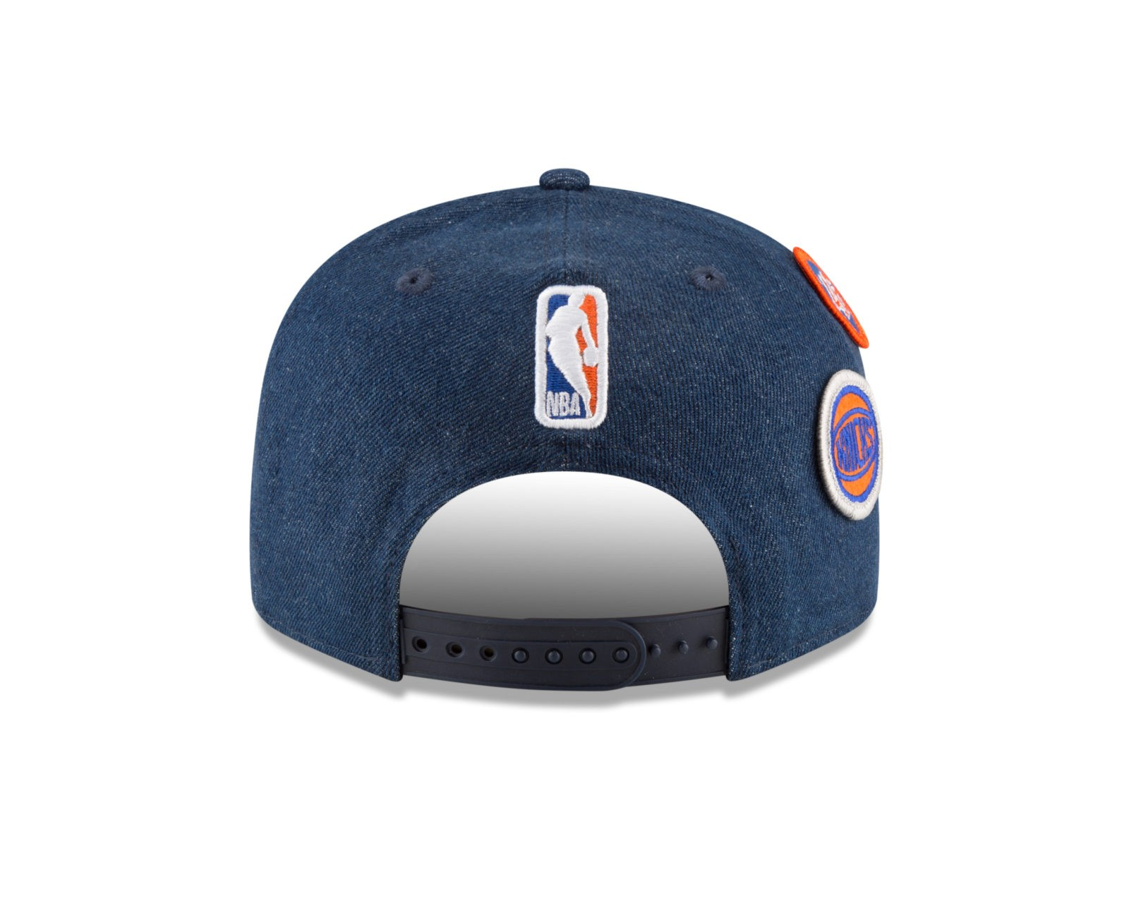 New York Knicks New Era 2018 Draft 9FIFTY Snapback Adjustable Hat – Denim cd5ed0347