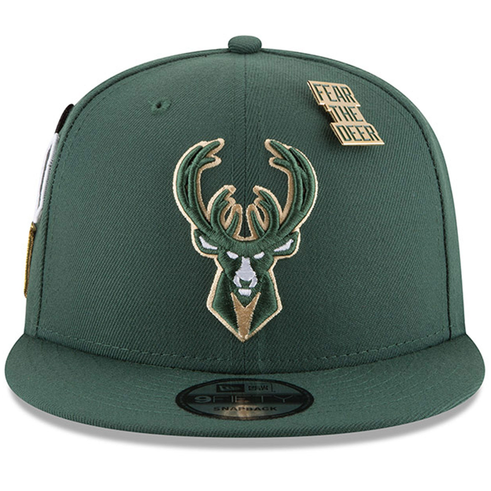 7ee83a351aa Milwaukee Bucks New Era 2018 Draft 9FIFTY Snapback Adjustable Hat – Green