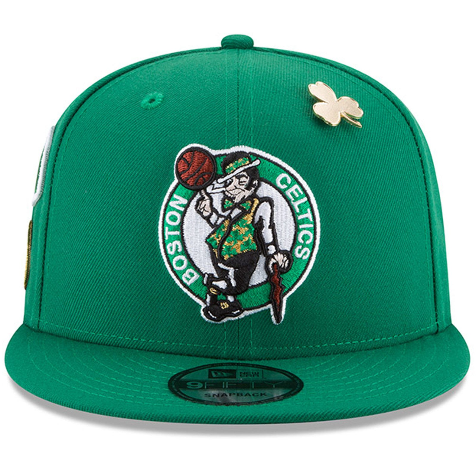 d5b6a367b2c Boston Celtics New Era 2018 Draft 9FIFTY Snapback Adjustable Hat – Green