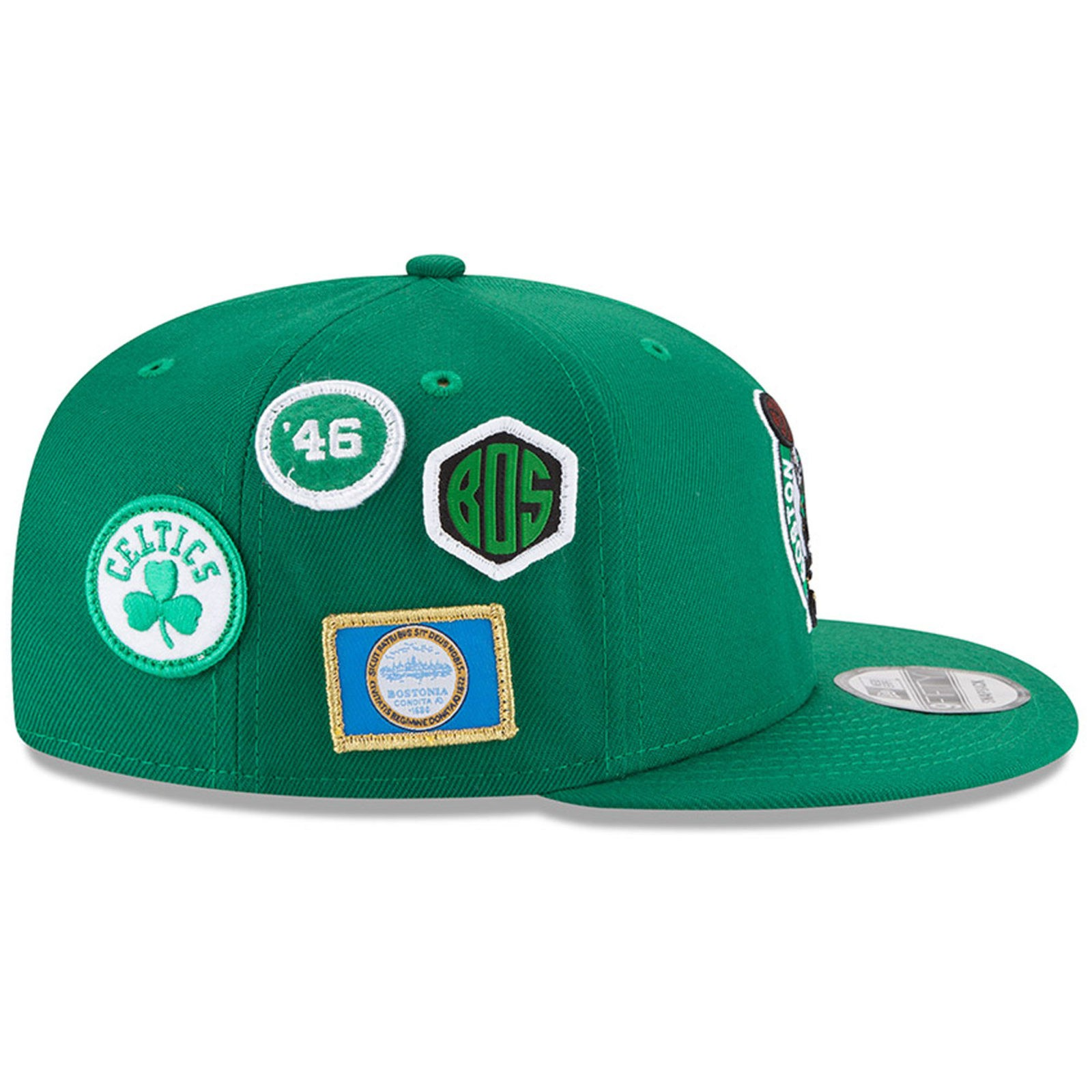19f620715e8 Boston Celtics New Era 2018 Draft 9FIFTY Snapback Adjustable Hat ...