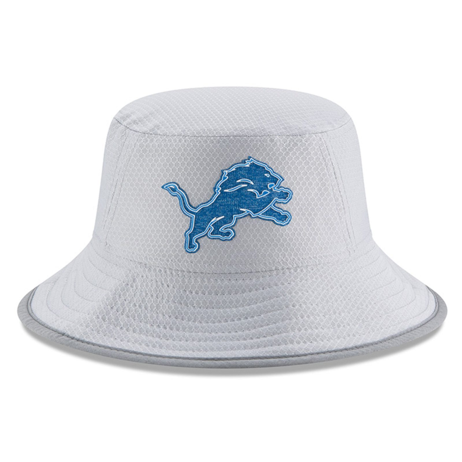 Detroit Lions New Era 2018 Training Camp Official Bucket Hat - Gray ... 44589d20d