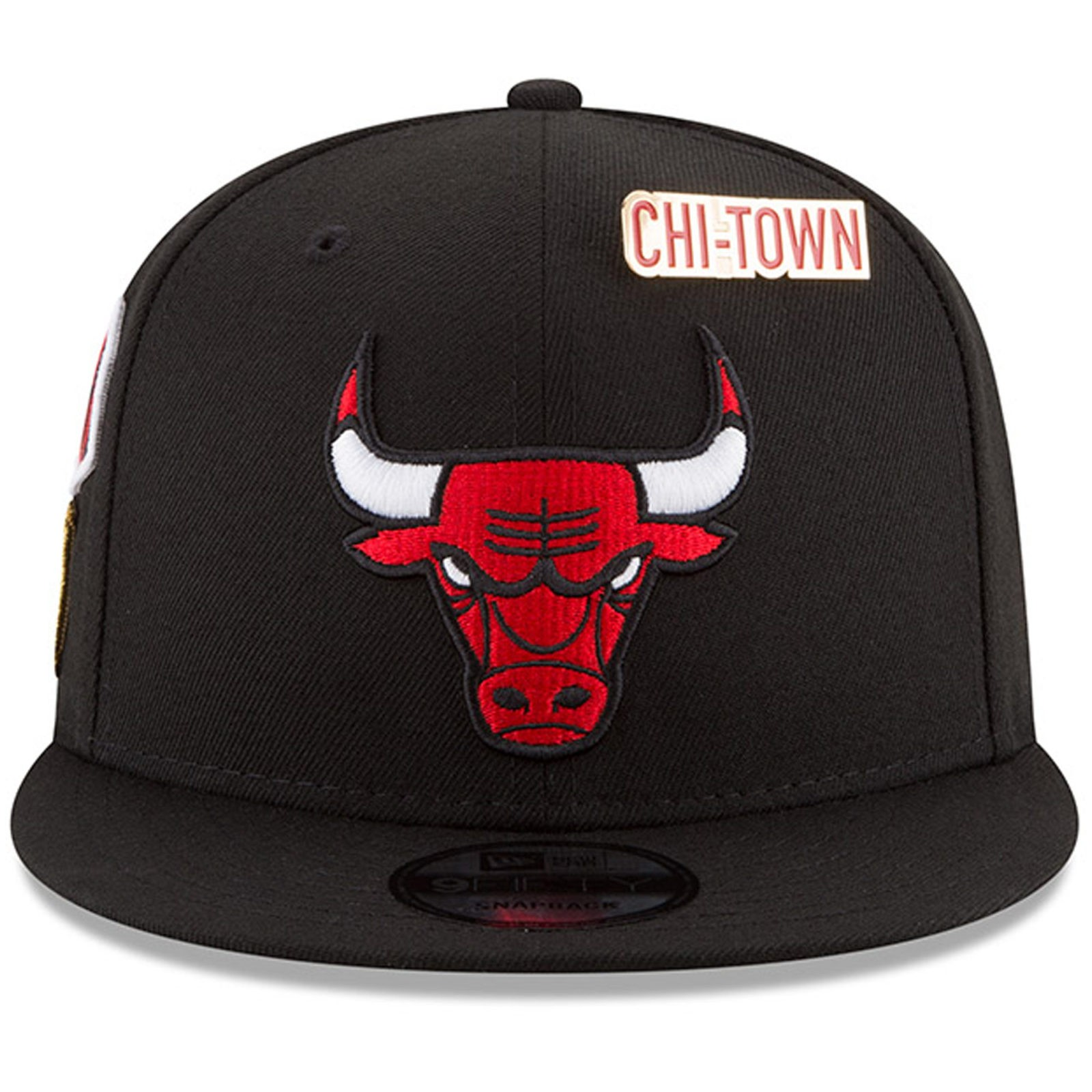393e006eb01 Chicago Bulls New Era 2018 Draft 9FIFTY Snapback Adjustable Hat – Black