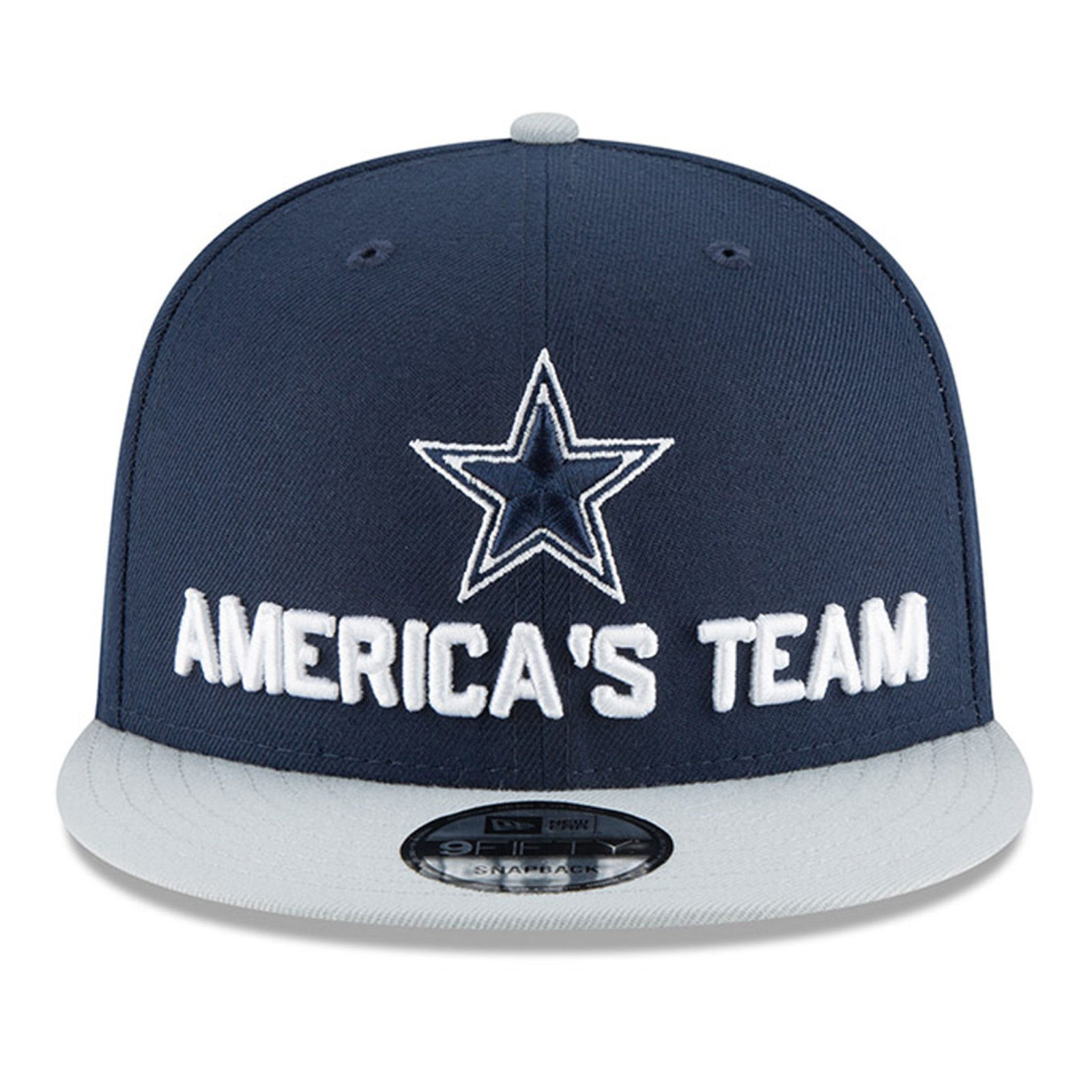 a7c958778 Dallas Cowboys New Era 2018 NFL Draft Spotlight 9Fifty Snapback Hat – Navy