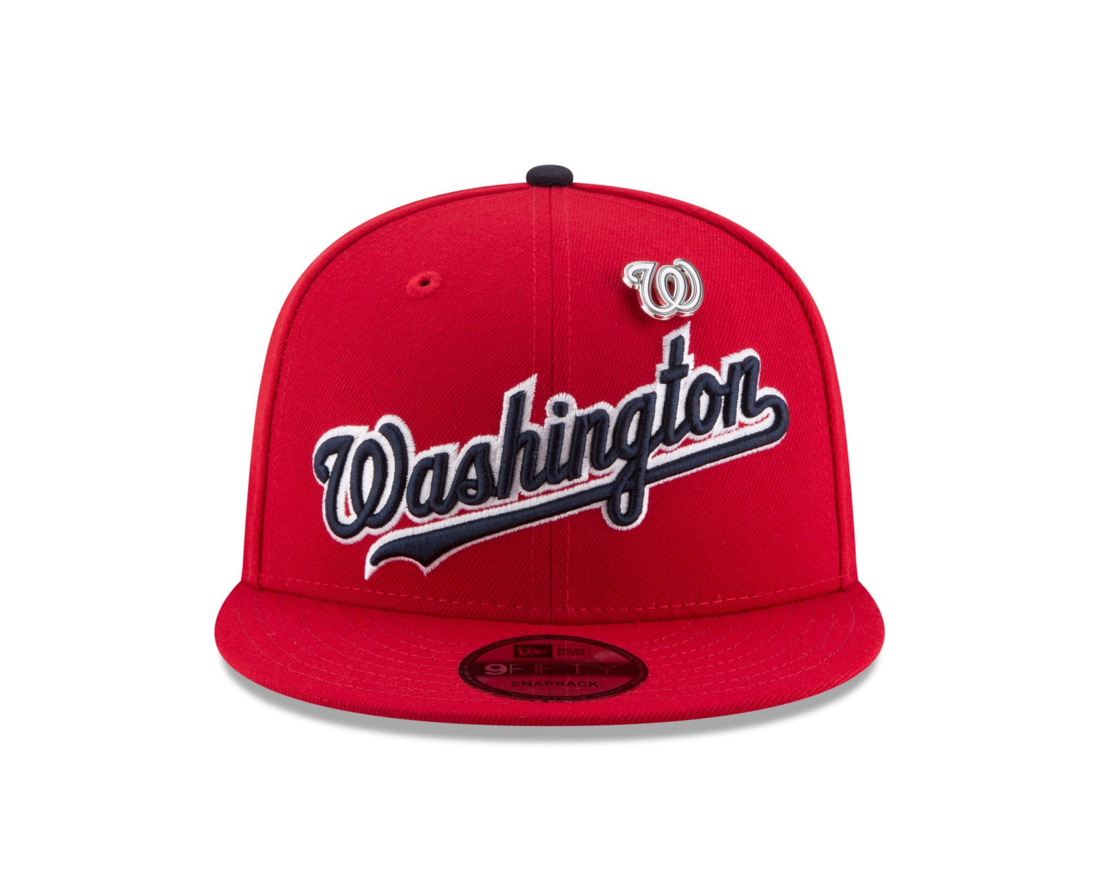 promo code a1ca5 0e04b Washington Nationals New Era PIN SNAP 9Fifty Snapback MLB Adjustable Hat