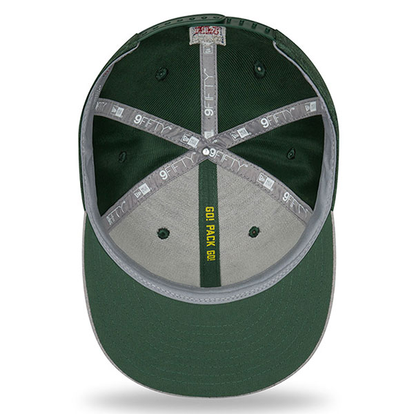 Green Bay Packers New Era 2018 NFL Sideline Road Official 9Fifty ... cfc40a356