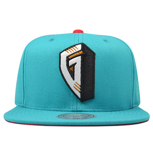 unique design best choice attractive price Memphis Grizzlies FIRST LETTER Snapback Mitchell & Ness NBA Hat ...