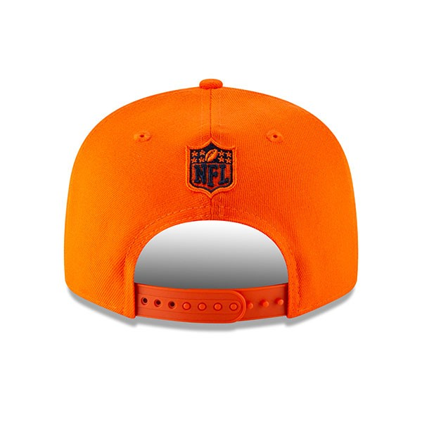db21f8625 Denver Broncos New Era METAL AND THREAD 9Fifty Snapback Adjustable ...